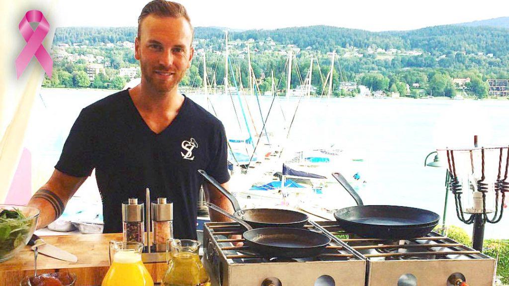 Im August kochte Cuisine-Lifestlye für die österreichische Krebshilfe beim Charity Frühstück imTennis & Yacht Hotel in Velden am Wörthersee