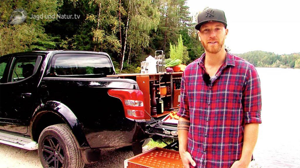 Für Jagd und Natur TV durfte Cuisine-Lifestyle den neuen MITSUBISHI L200 Yukon testen