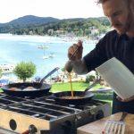 Cuisine Lifestlye - Sascha Zellinger mit seiner mobilen Küche von Camp Champ im Einsatz - privater Koch zum Mieten