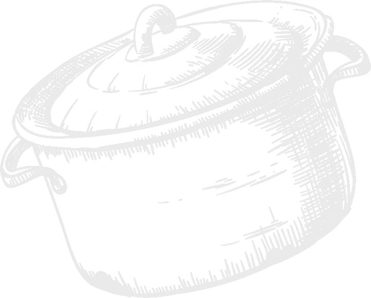 Cuisine-Lifestyle - Kochtopf Icon handgezeichnet