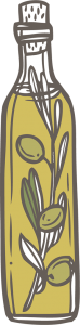 Cuisine-Lifestyle - Olivenöl Shop - Icon Flasche Olivenöl