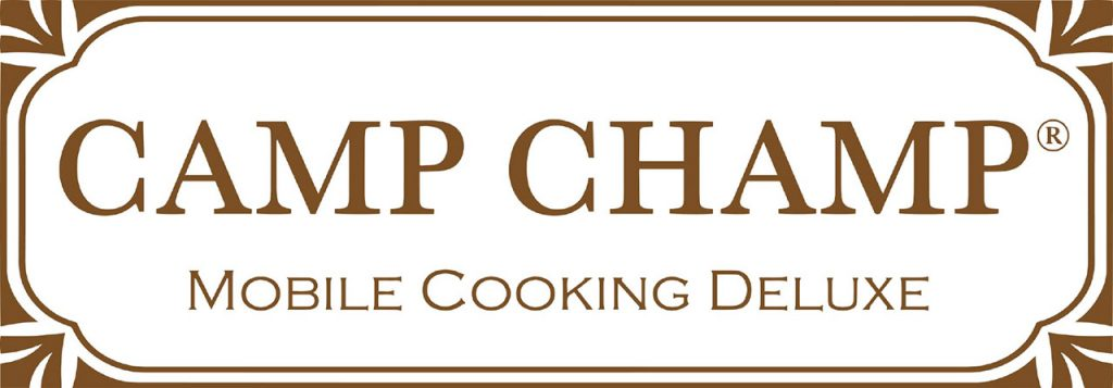 Logo Camp Champ - mobile cooking deluxe