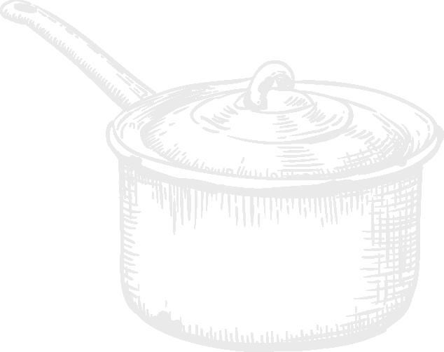 Cuisine-Lifestyle - Kochtopf Icon handgezeichnet klein